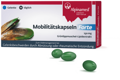 Alpinamed® Mobilitätskapseln Forte